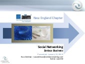 AIIM New England  Social Networking...