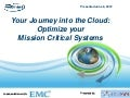 AIIM Cloud Webinar - EMC Corporation