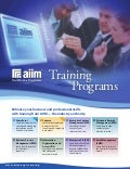 AIIM Training Brochure