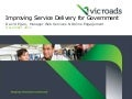 Improving Service Delivery for Government - VicRoads