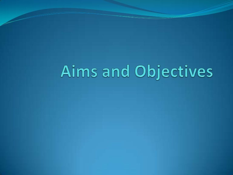 What are subways aims and objectives?
