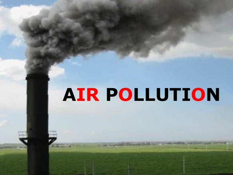 Words Essay on Air Pollution - PreserveArticles com