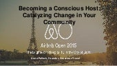 Becoming a  Conscious Host: Catalyzing Change in Your Community