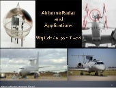 Airbone Radar Applications by Wg Cd...