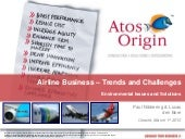 Airline Business - Trends and Chall...