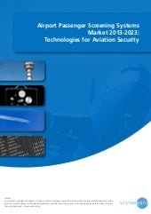 Airport Passenger Screening Systems...
