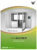 Air Shower (Tower Flow) by ACMAS Technologies Pvt Ltd.