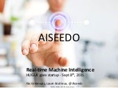Aiseedo: Real Time Machine Intelligence