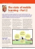The State of Mobile Learning - Part 2
