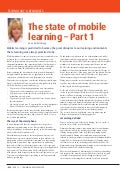 The State of Mobile Learning - Part 1