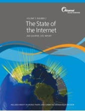 Akamai State of the Internet Report...