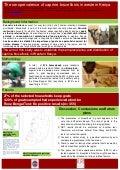 The seroprevalence of caprine brucellosis in western Kenya