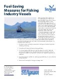 Fuel-Saving Measures for Fishing Industry Vessels