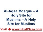 Al-Aqsa Mosque – A Holy Site for Mu...