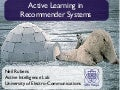 Active Learning in Recommender Systems