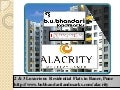 Alacrity new Property Project in Pune by B.U.Bhandari