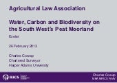 Water, carbon and biodiversity on S...
