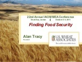 Finding Food Security - IAOM 2011