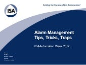 Alarm Rationalization Workshop - Ti...