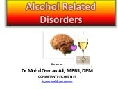 Alcohol related disorders osmanali