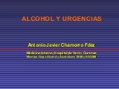 Alcohol y Urgencias
