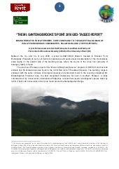 """THE Mt. GANTONG/BROOKE'S POINT 201..."