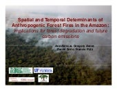 Spatial and temporal determinants o...