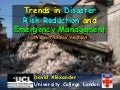 Trends in Disaster Risk Reduction (orthodox version)