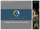 Alexco Resource Corp. video