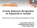 Experiences from Two Latin American PhD Students in Ireland