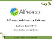 Alfresco Addons by Zylk in Alfresco...