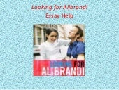 Looking for alibrandi essays about changing perspective