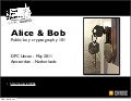 Alice & bob  public key cryptography 101 - uncon dpc