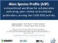 Alien Species Profile, Island Biology Conference, Azores 2016