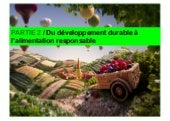 L'Alimentation Responsable (Partie 2)