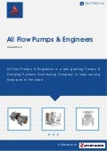 Industrial Pumps by All flow pumps engineers