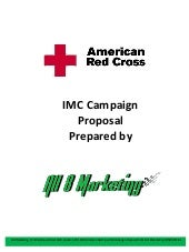 American Red Cross IMC Thesis