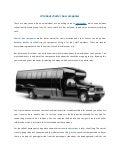 All about charter bus companies