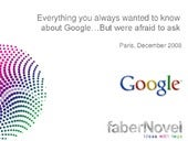 Why GOOGLE Thrive and Others Cant M...