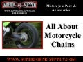 All About Motorcycle Chains