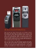 All about retail atm machines