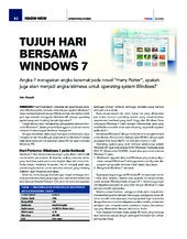 All about windows 7