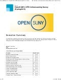 Student Survey: Open SUNY COTE Online Learning Survey (Spring 2015)
