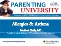 Parenting U: Allergies & Asthma