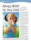 Global Medical Cures™ | Allergy Relief for your Child