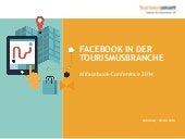 Facebook in der Tourismusbranche @ AllFacebook Marketing Conference