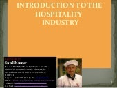 INTRODUCTION OF HOSPITALITY INDUSTRY