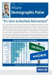 Allianz Demographic Pulse | Retirem...