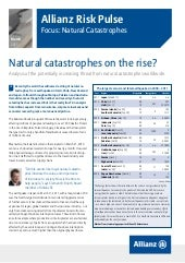 Allianz Risk Pulse: Natural catastr...