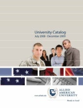 Allied American University Online C...